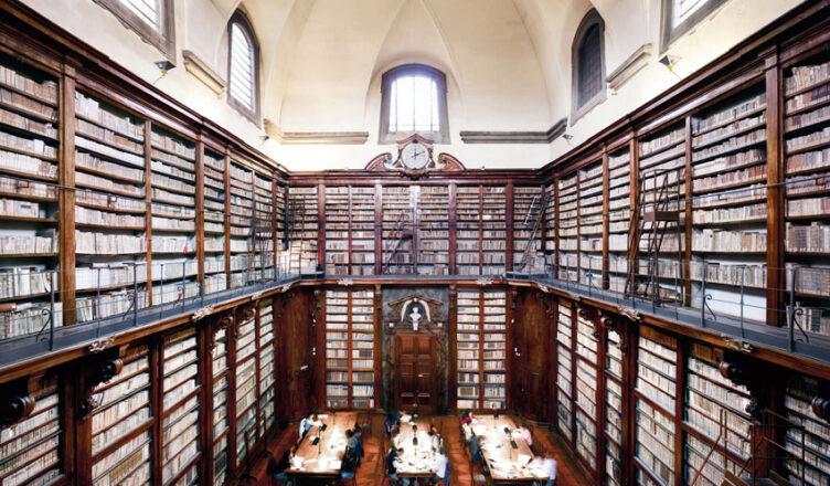 Устройство древних библиотек