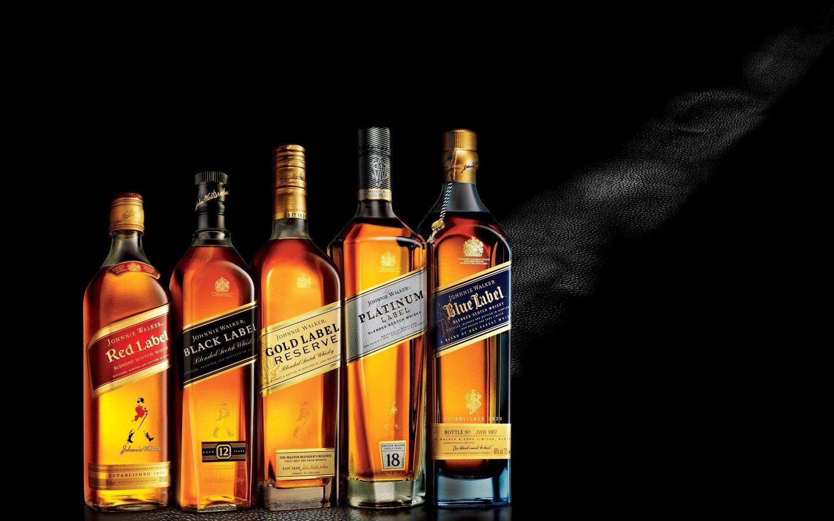 Частная дегустация виски Johnnie Walker