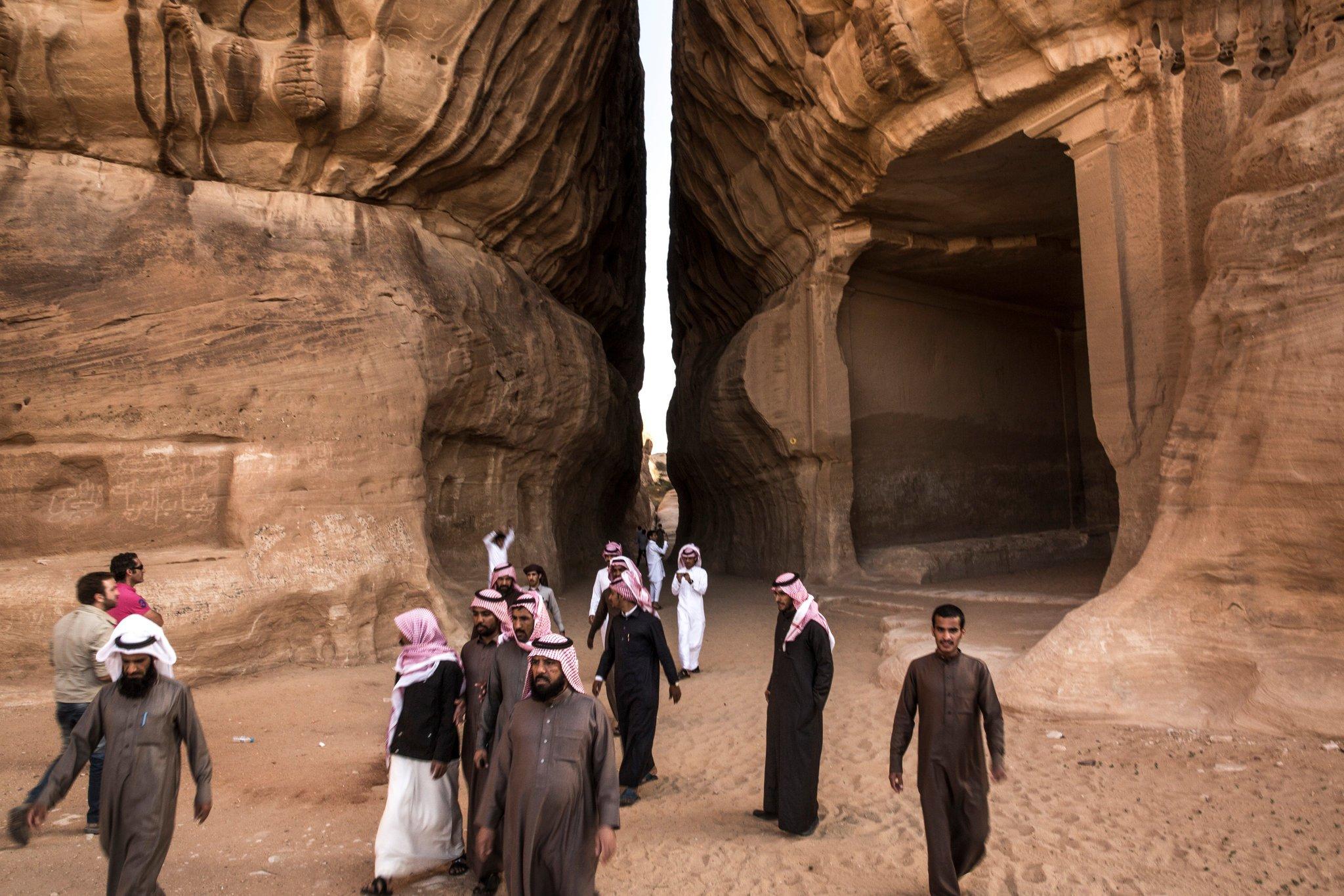 доисламские арабы строили подземные города