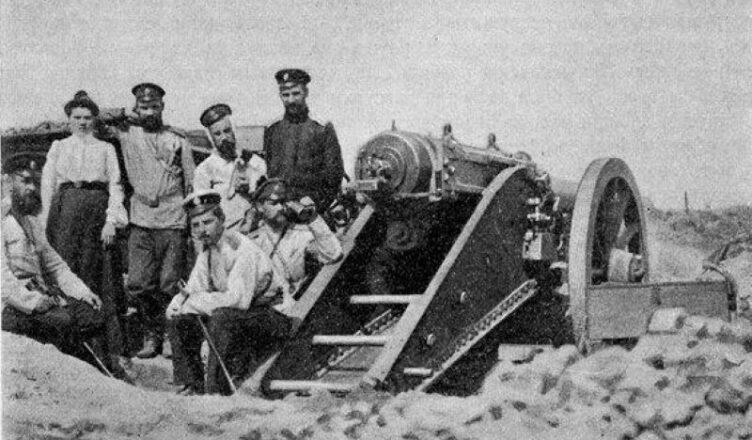 курганная батарея 13 (26) ноября 1904