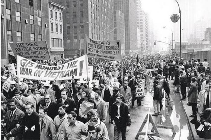 Антивоенное движение против войны во Вьетнаме в 1960