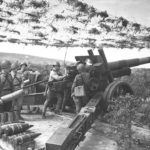 мощной артиллерийской подготовки