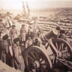 Наступление охотничьей команды и роты Омского полка