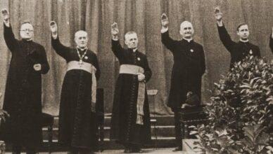 Тесный союз националистов и униатского духовенства