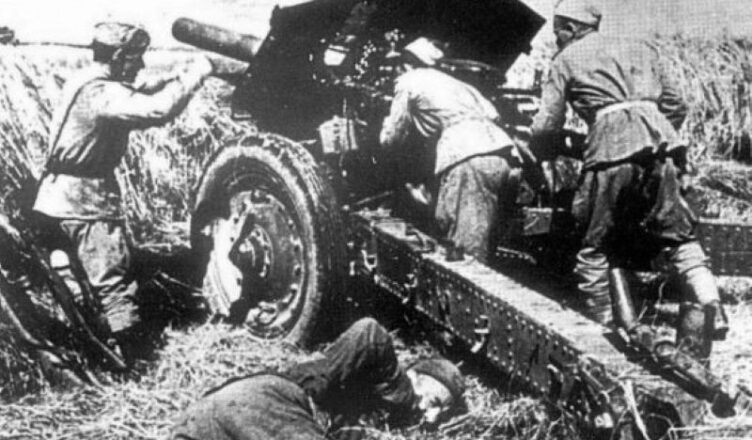 бои против немецко-фашистских захватчиков