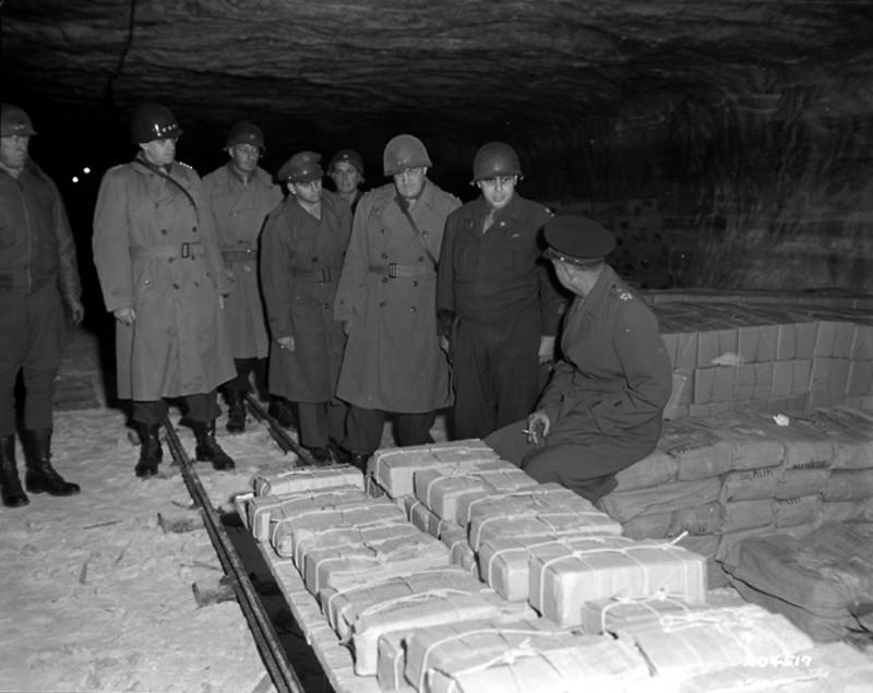 нацистское золото шахты Меркерс