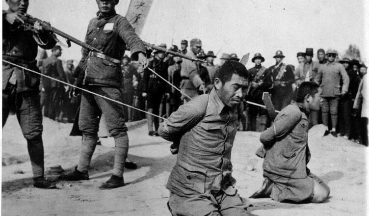 Как японцы устроили резню в Нанкине