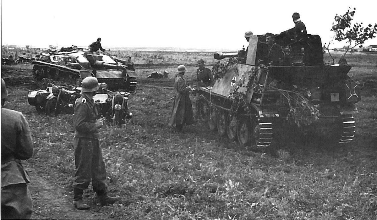 вражеские танки