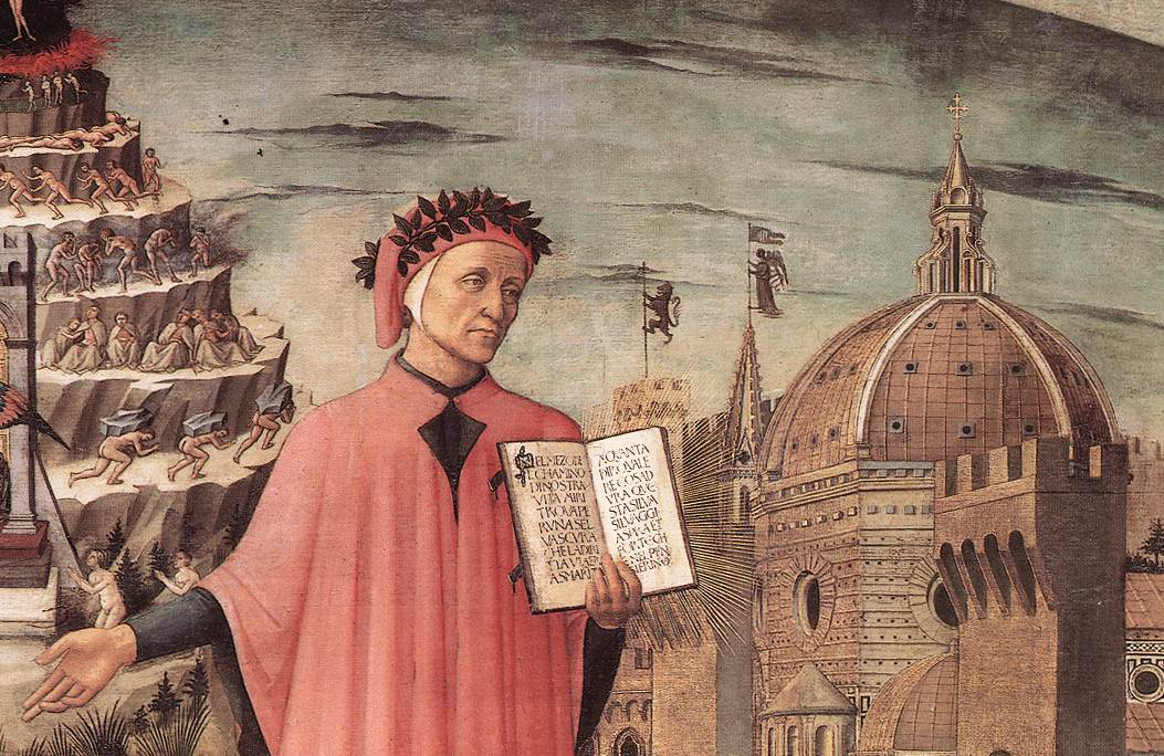 описание ада от Данте Алигьери с церковными канонами