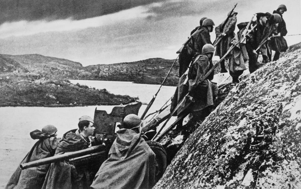 Разгром немцев в Заполярье