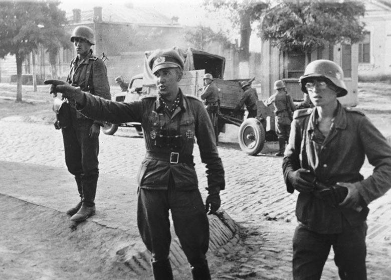 гитлеровская оккупация