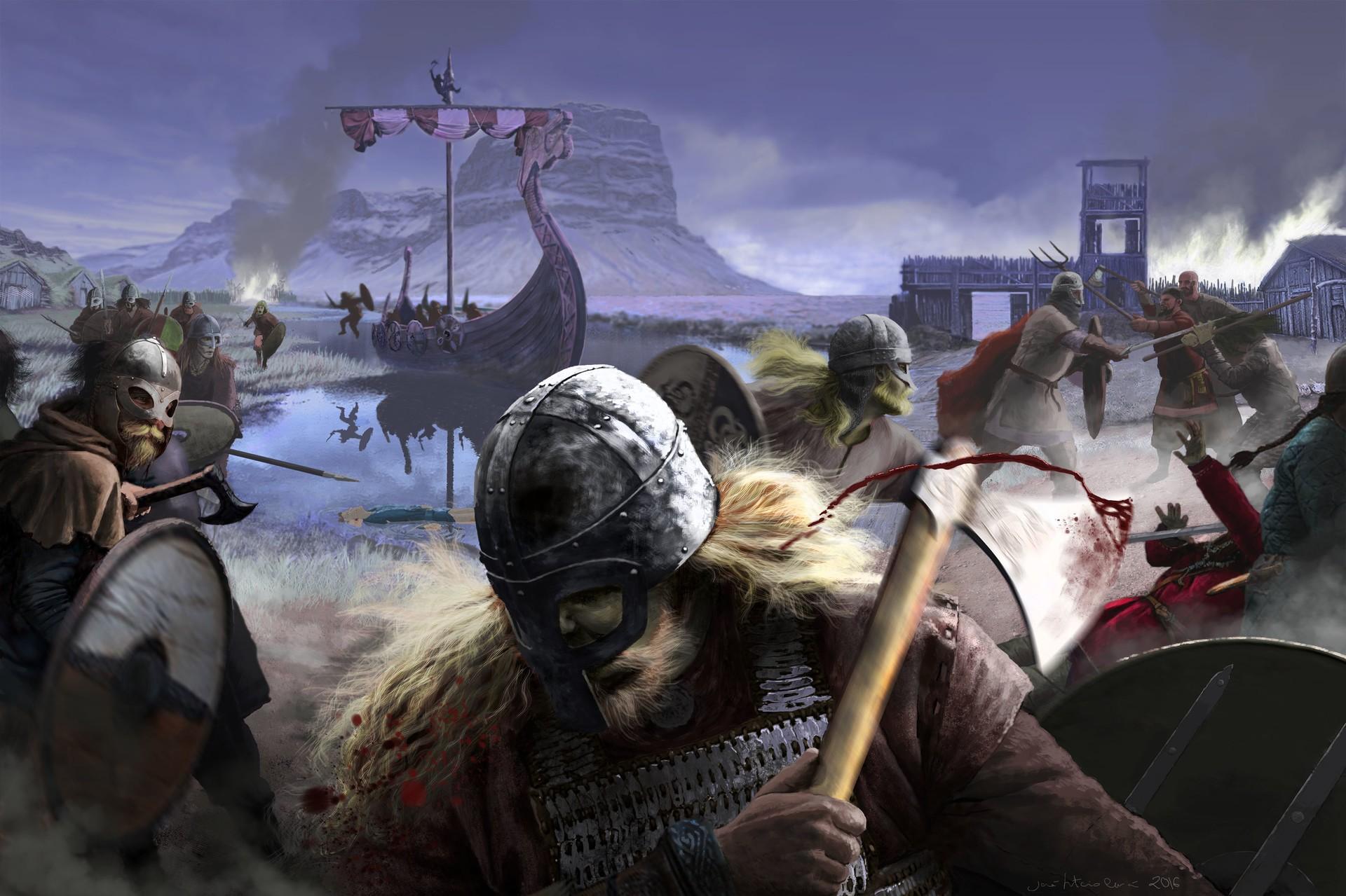 Как арабы викингов победили