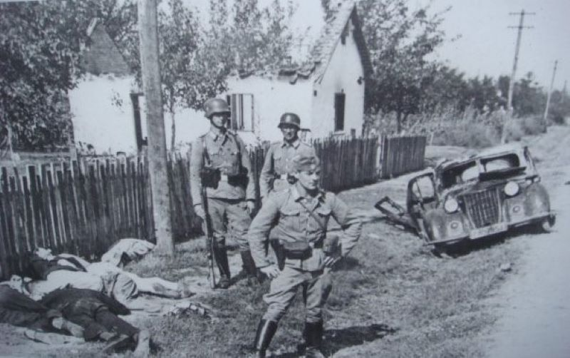 Эйнзатцгруппы проводили казни