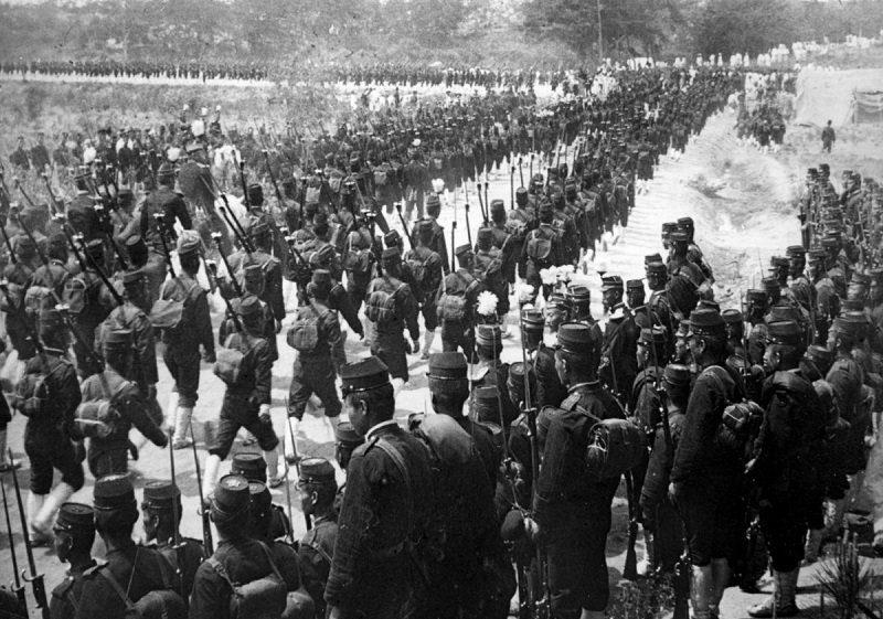 Отступление японцев под Хунхэ
