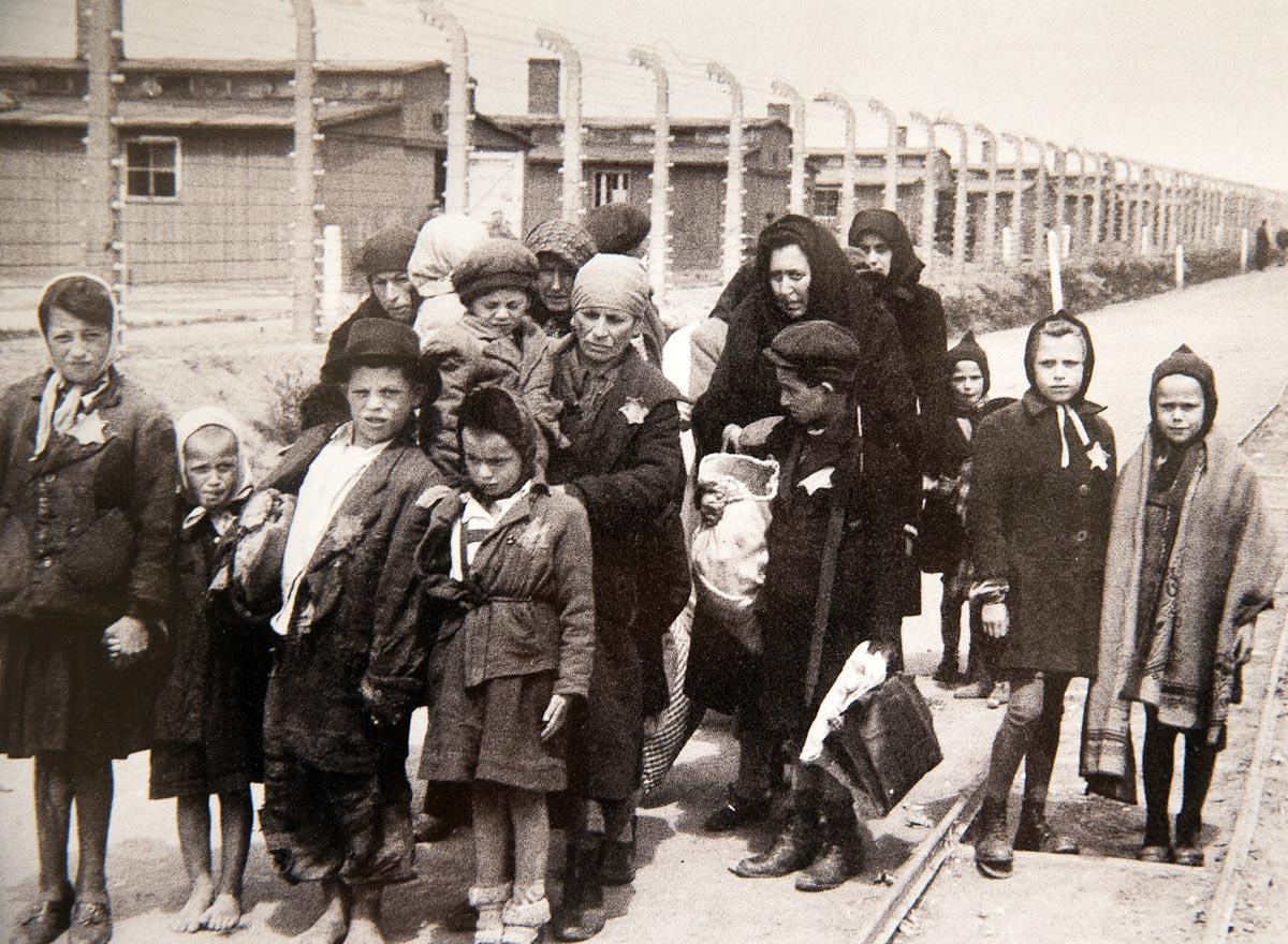 Дети в Освенциме