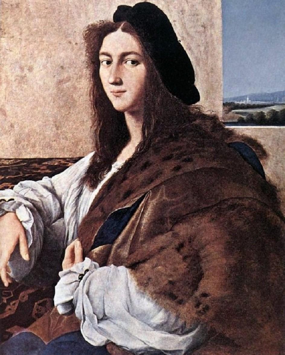 Картина Рафаэля «Портрет молодого человека»