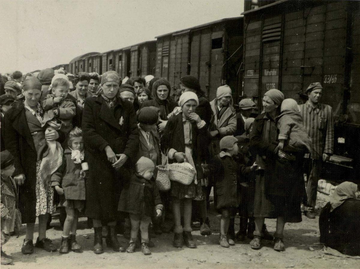 Вывоз польских детей из школ