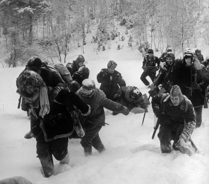 партизаны зима вов