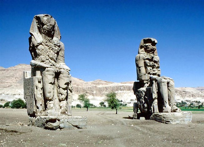 древний город фараона Аменхотепа III