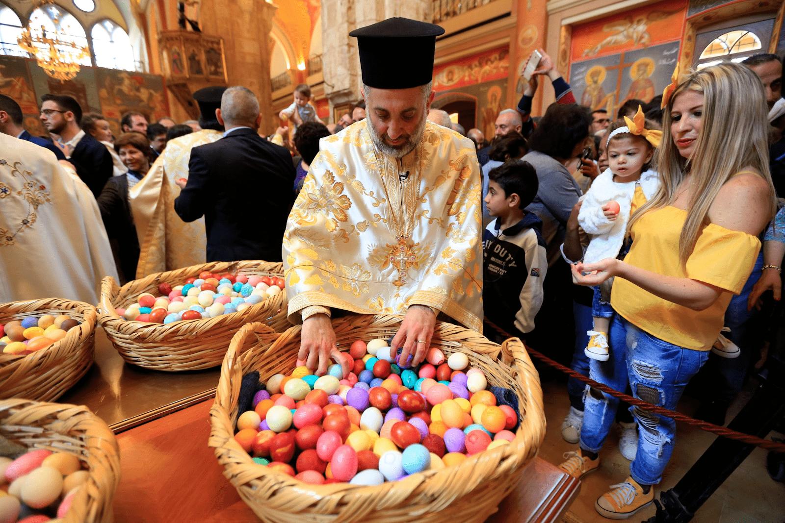 католики и евреи празднуют Пасху