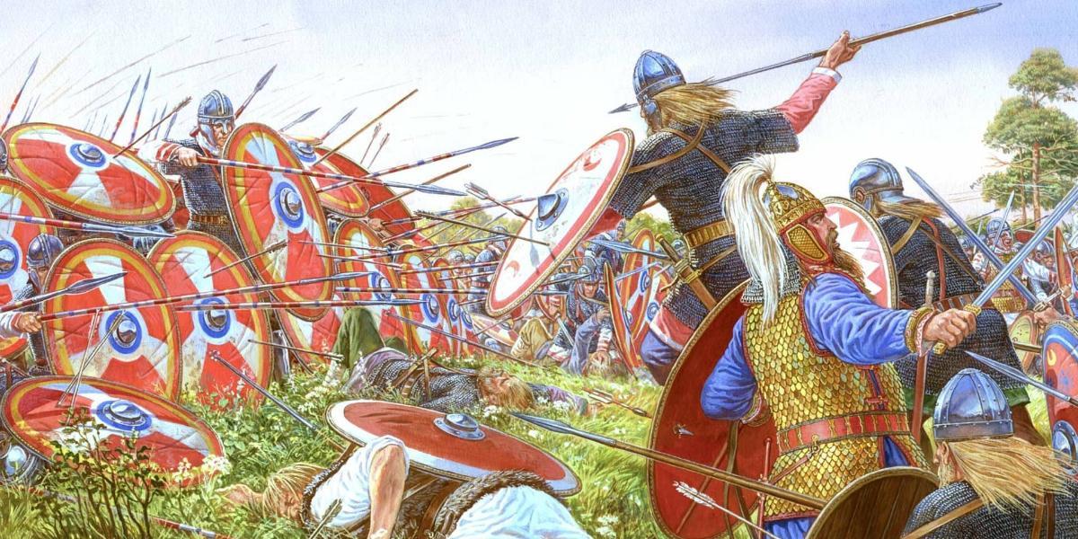Как саксы и викинги захватили Британию