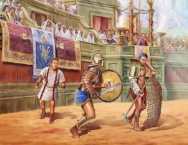 Бой, после которого гладиаторы соперники стали друзьями