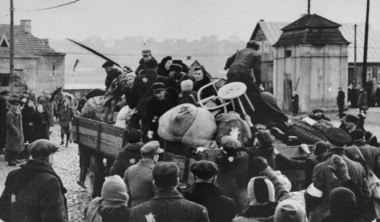 акции поголовного истребления евреев