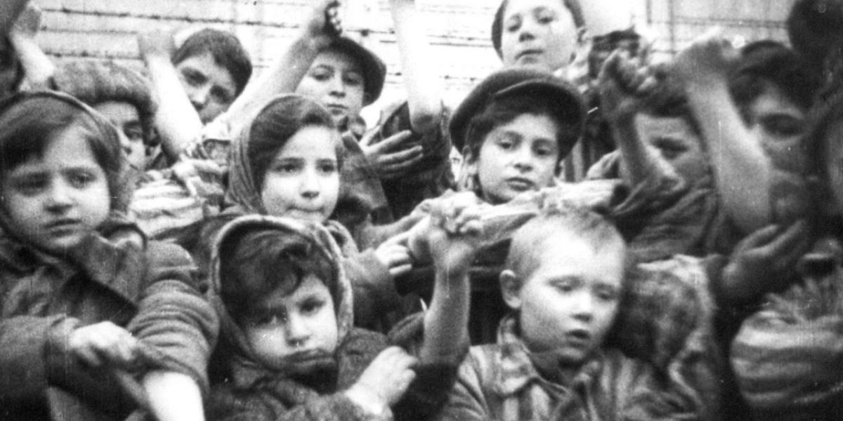 Дети в концлагере Штутгоф