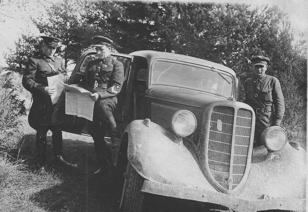 водитель на войне