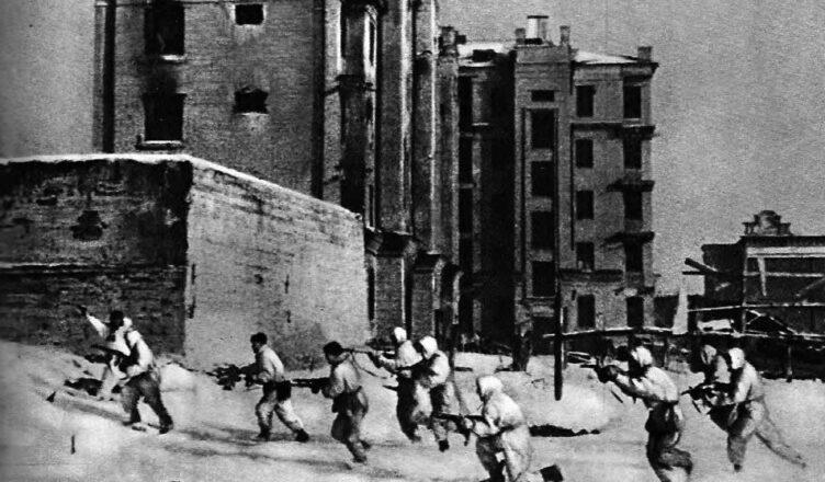 Провал штурма тракторного завода под Сталинградом