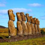 Остров Пасхи, Статуи Моаи