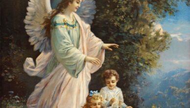 ангелов-хранителей.
