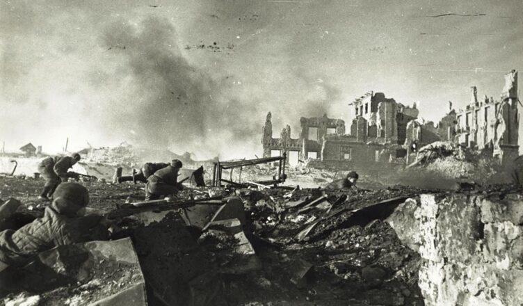Последний бой за тракторный завод Сталинграда