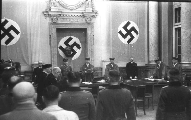 Суды в третьем Рейхе