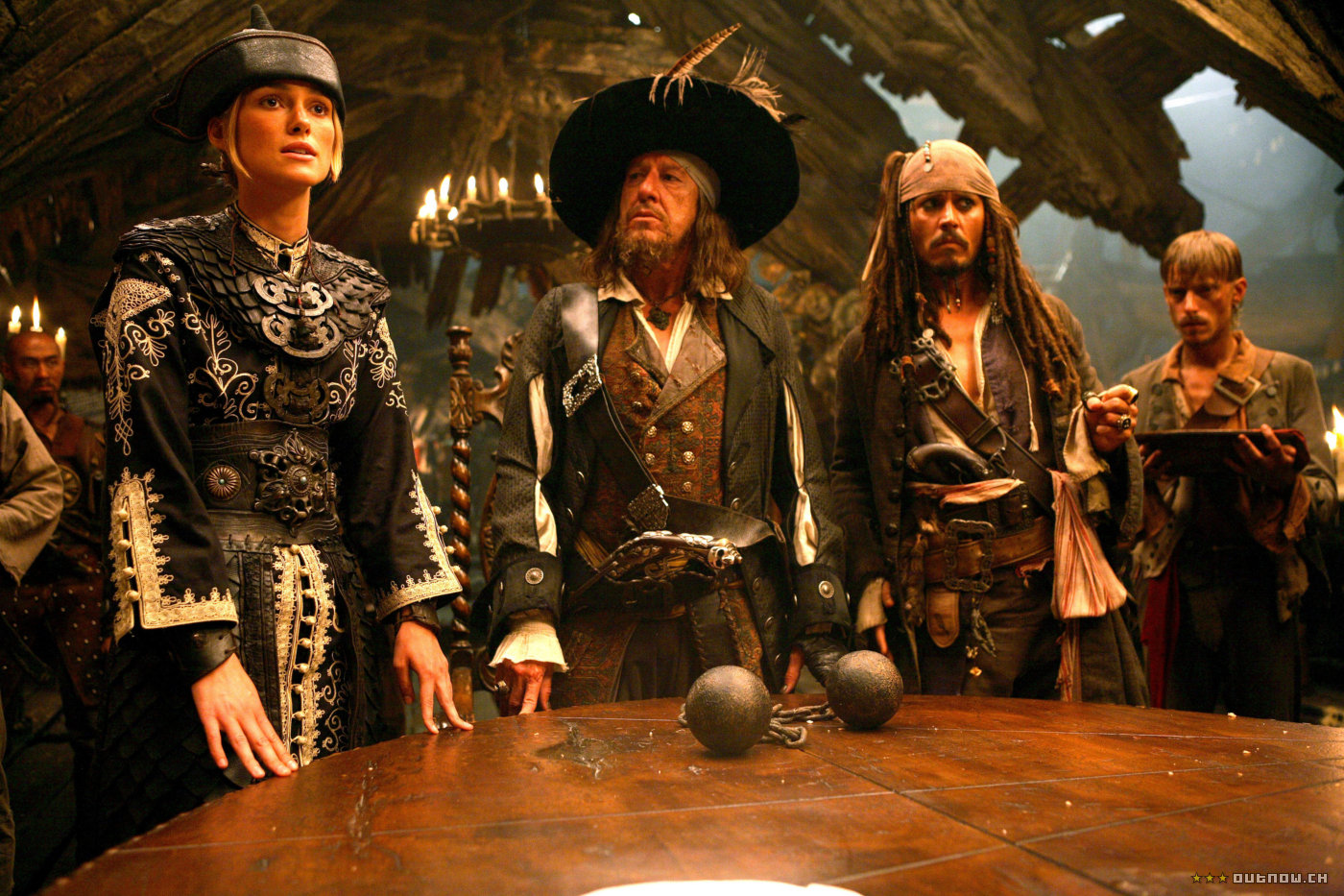 История карибских пиратов