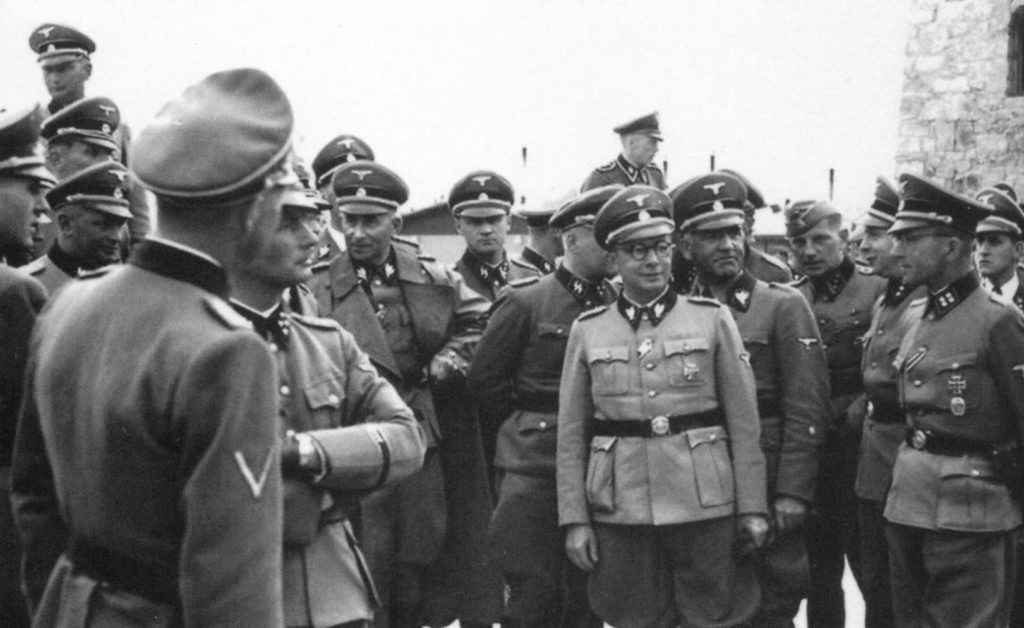 Карательные структуры Фашисткой Герамании
