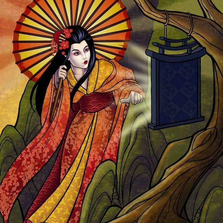Богиня восходящего Солнца