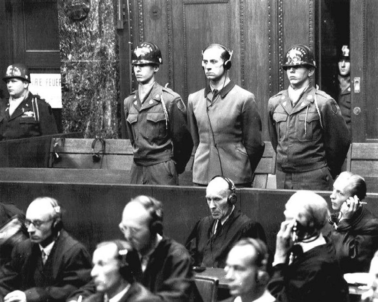 Гитлеровский аппарат преступлений