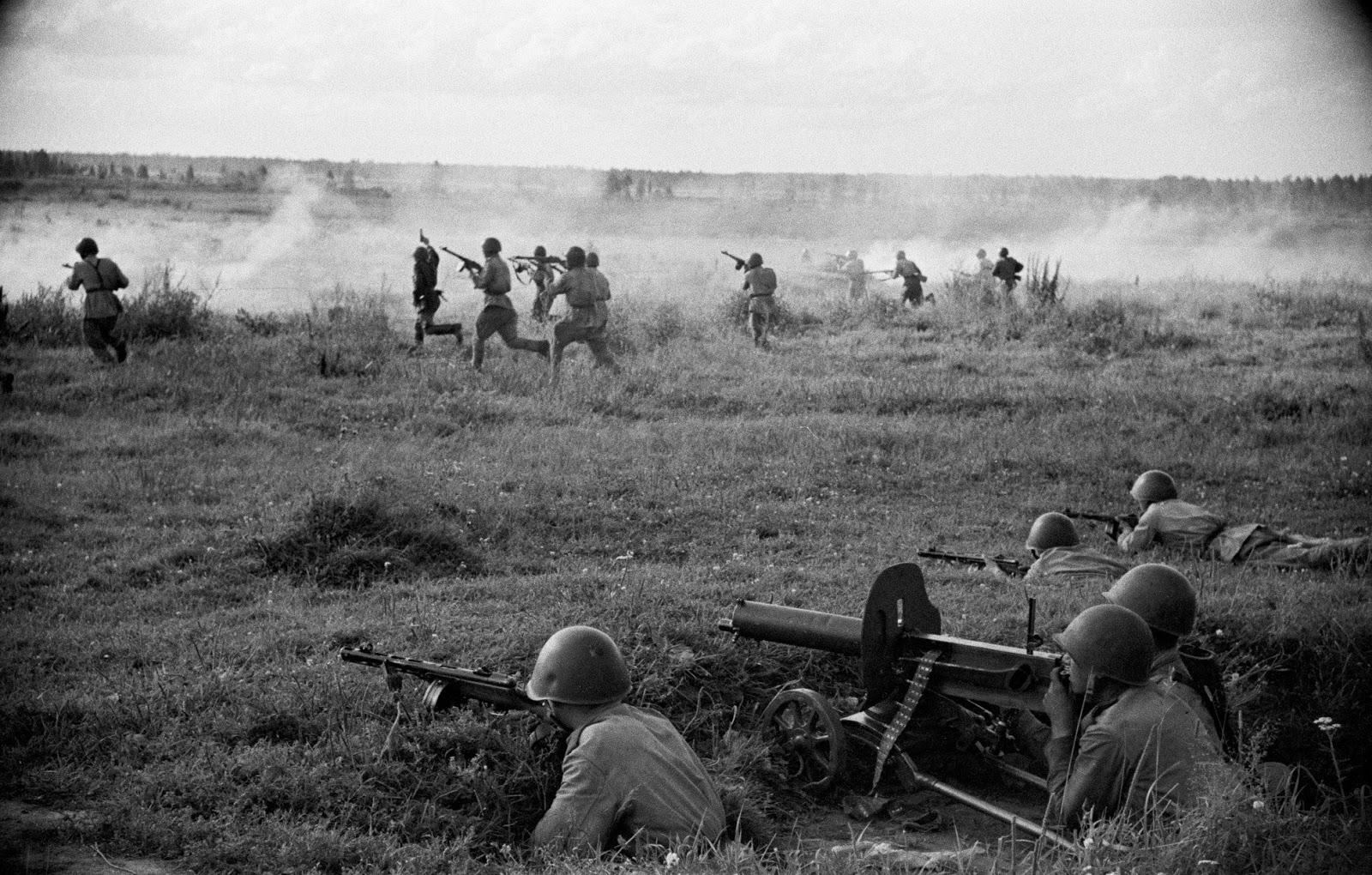 Артиллерийское наступление на Карельском перешейке