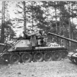 Маневры самоходной артиллерии