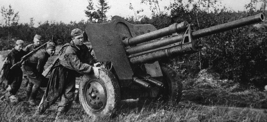Артиллерийское сопровождение пехоты