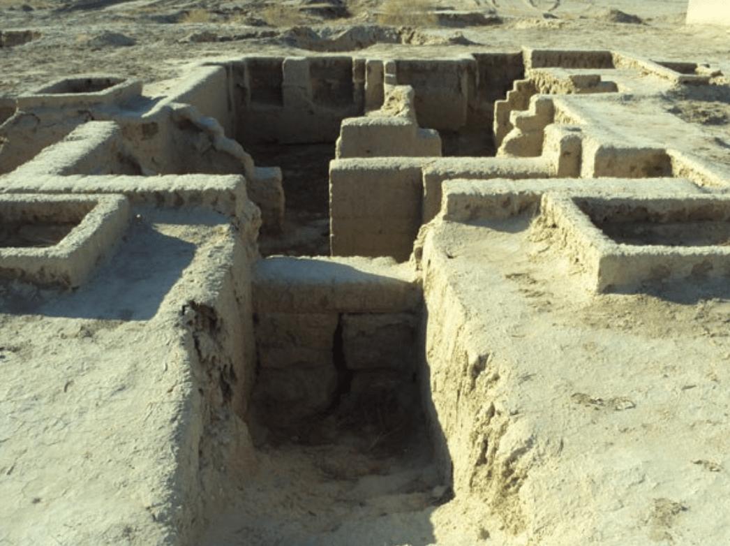 Захоронения Месопотамии