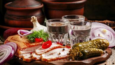 Русские традиции, связанные с водкой
