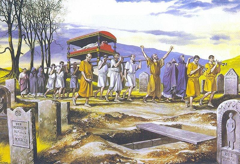 Древнеримские захоронения