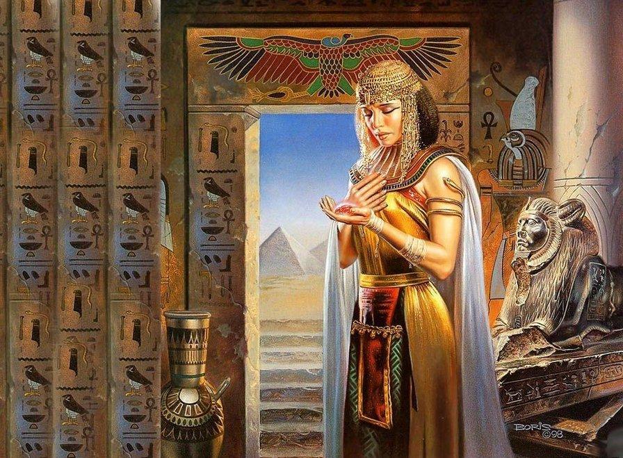 В каких древних религиях главными были женщины-жрицы