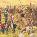 Как зулусы закололи копьями Наполеона