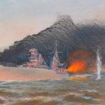 взрыв мины в параване