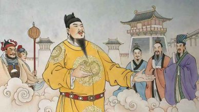 императора Фу Цзяня его сын Фу Шэн