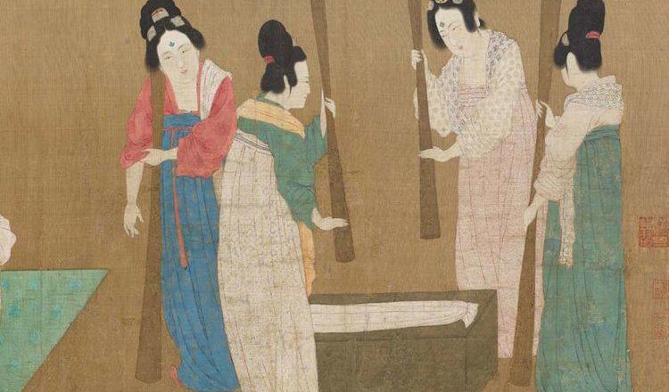 Легенда о происхождении китайского шёлка