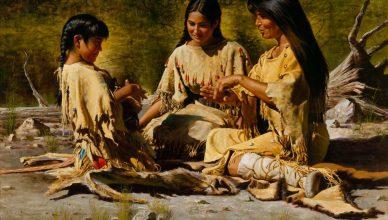 Предки апачей и навахо играли в азартные игры